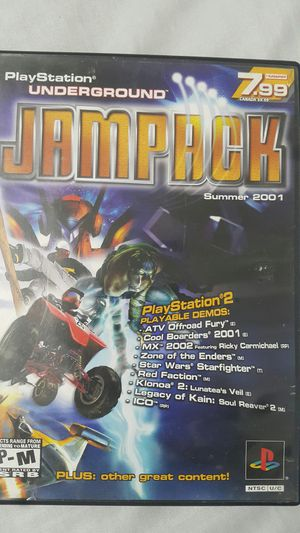 JAMPACK FOR PS2 for Sale in Miami Gardens, FL
