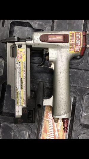Max 23 gage pin nail gun for Sale in Gresham, OR