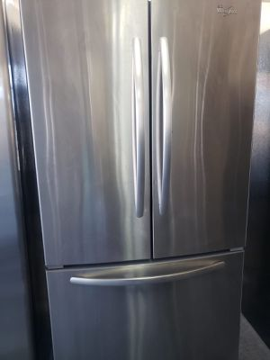Whirlpool Refrigerator Fridge Free Delivery With Icemaker #831 for Sale in Ontario, CA