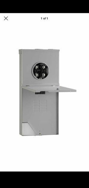 200A 8-Space 16-Circuit Outdoor Combination Main Lug Meter Socket Center for Sale in Stockbridge, GA