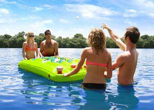 Indoor/outdoor inflatable beer pong table for Sale in San Antonio, TX