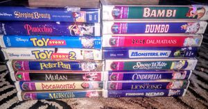 16 Disney Vhs movies for Sale in Westgate, NY