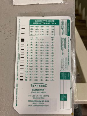 815-E scantrons for Sale in Glendale, CA