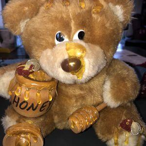 Honey Pot Teddy Bear Plush Retired for Sale in Wilmington, OH