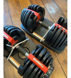 Adjustable Dumbbells (5-52.5lbs) for Sale in Arlington,  VA
