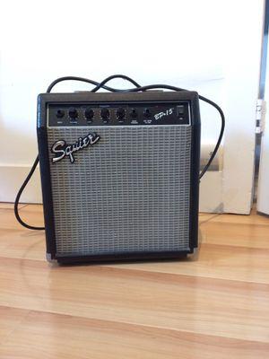 Amp: Squier BP-15 for Sale in Los Angeles, CA