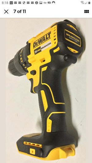 New Dewalt 20 Volt Brushless Drill Driver 1/2 inch 20v BARE TOOL for Sale in Lexington, NC