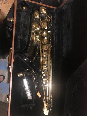Black tenor saxophone for Sale in Spring, TX