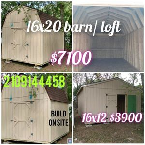 Shed 12x16 for Sale in San Antonio, TX