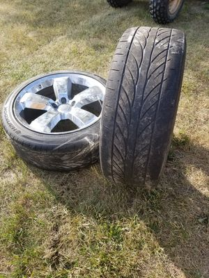 4 Chrome rims for Sale in Sanford, MI