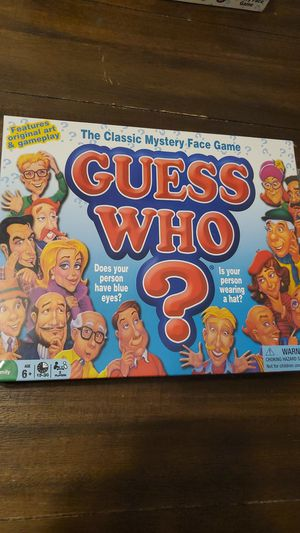Guess who game for Sale in Nashua, NH