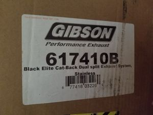 Gibson Performance 617410B Black Elite Cat-Back Dual Split Exhaust System New for Sale in San Diego, CA