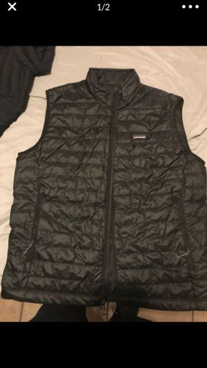 Brand new men's Patagonia jacket vest and t shirt set size large has tags MSRP 425$ for Sale in Mesa, AZ