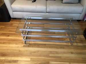 Glass table for Sale in Florissant, MO