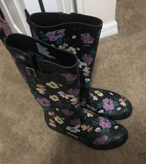 Rubber boots, high knee for Sale in Homestead, FL