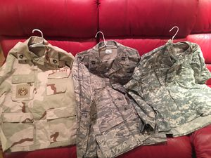 US Military Issue Camy Jackets-$8 each for Sale in Pinellas Park, FL