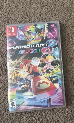 MarioKart 8 Deluxe for The Switch for Sale in Fairview Park, OH