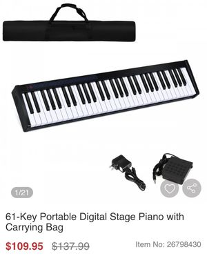 Digital Stage Piano with Carrying Bag for Sale in La Mirada, CA