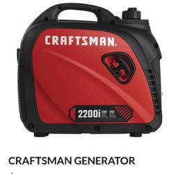 BRAND NEW. CRAFTSMAN2200-Watt Inverter Gasoline Portable Generator,NUEVO for Sale in Henderson,  NV