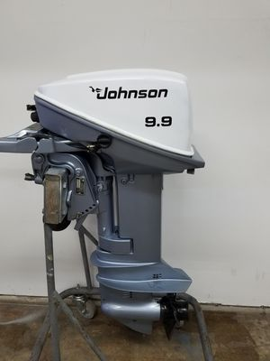 Johnson outboard boat motor 9.9 hp for Sale in Conroe, TX
