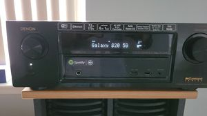 Deon 7.2 home theater receiver & klipsch subwoofer for Sale in Shirley, NY