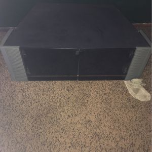 Tv Stand With Glass Doors for Sale in Abilene, TX