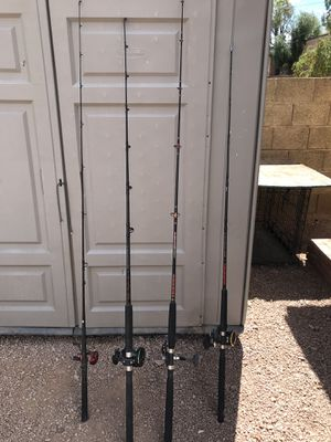 Fishing rods and reels for Sale in Mesa, AZ