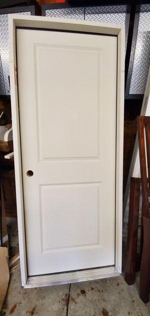 """Interior garage door - 20 min fire rating. 1-3/4"""" solid core 2 panel molded door on Therma Tru jamb with ADA sil for Sale in Berlin, NJ"""