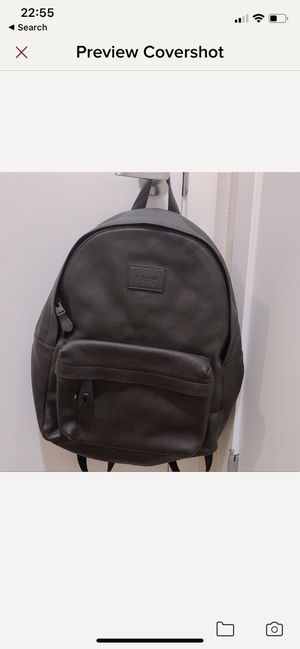 New coach men's backpack for Sale in Vancouver, WA
