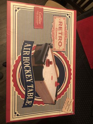Retro Air Hockey Table, new in box for Sale in Charlton, MA