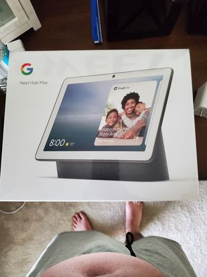New in box Google hub max for Sale in Decatur, AL
