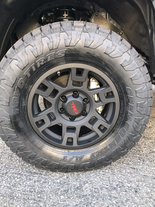 toyo at3 country open trd 4runner tacoma wheels pro offerup oem lt285