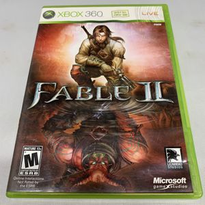 Fable II For Xbox 360 Complete CIB Video Game for Sale in Camp Hill, PA