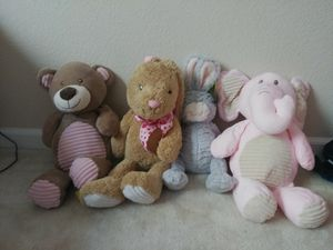 New! Plush Rattles/Stuffed animals for Sale in Hayward, CA
