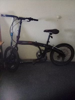 "AOMAIS 20"" Folding Bike Foldable Mountain Bike Shimano 6 Speed Bicycle S Black for Sale in San Diego, CA"