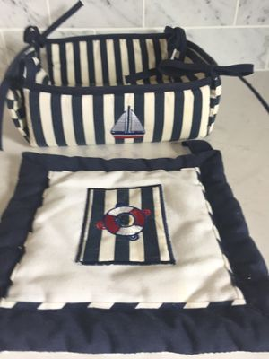 Nautical theme basket for Sale in Smyrna, GA