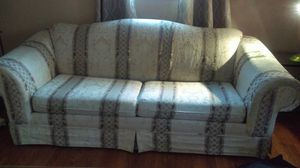 Sofa sleeper; matching chair and center table for Sale in Silver Spring, MD