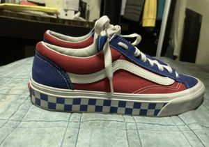 red and blue limited edition vans for Sale in Hayward, CA