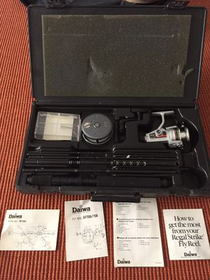 Daiwa Executive Travel Pack. Fly and spinner reel fishing set for Sale in Coral Gables, FL