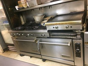 Imperial commercial stove for Sale in Portsmouth, VA
