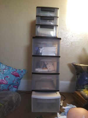 Plastic drawers for Sale in Corning, CA