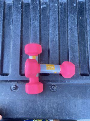 CAP 3lb Dumbbell Set( 6lb) TOTAL for Sale in Seal Beach, CA