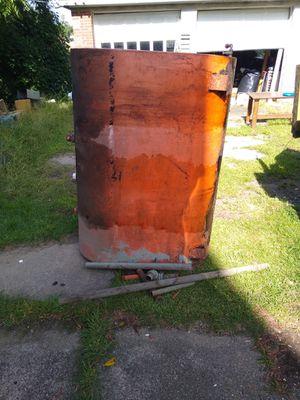 Free oil tank free metal for Sale in Shelton, CT