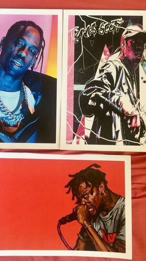 ad6f0688be4f Travis Scott astroworld Prints And Posters in 11x17 inch glass frames for  Sale in La Puente