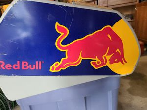 Red bull refrigerator for Sale in Saint CLR SHORES, MI