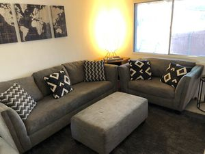 Gray couch for Sale in Tempe, AZ