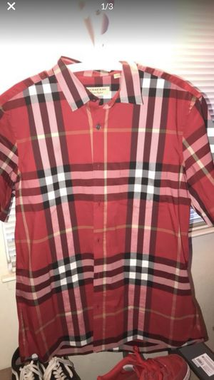 Burberry Shirt for Sale in San Bruno, CA