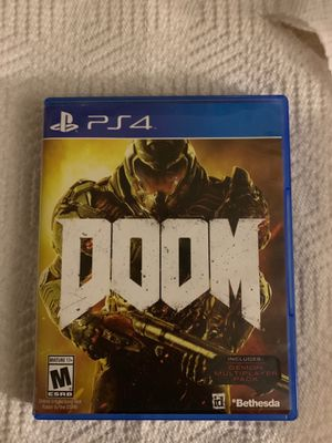 Doom game ps for Sale in Pasco, WA