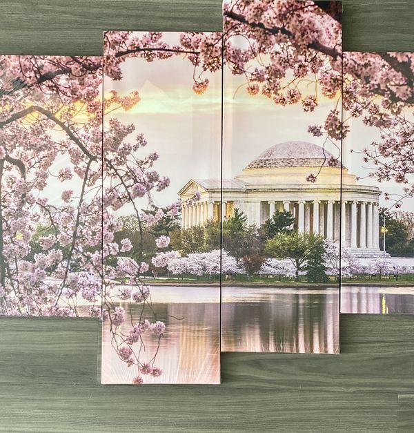 Jefferson Memorial Canvas Print