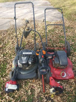 Lawn mower and weed eater for Sale in Houston, TX